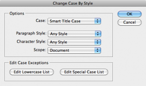 Change Case By Style
