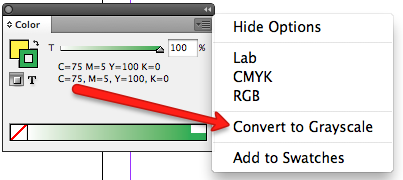 Convert Colors To Grayscale Script In Indesign In Tools Com