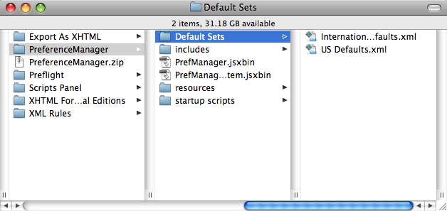 default_sets