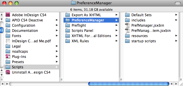 preference manager script in tools com rh in tools com Adobe InDesign Formatting Adobe InDesign CC